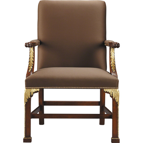 Baker Furniture - Square Back Arm Chair - 5347