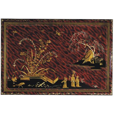 Baker Furniture - Red Tortoiseshell Centre Table - 5356