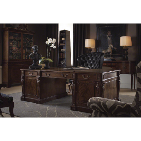 Baker Furniture - Penshurst Chippendale Display Cabinet - 5396