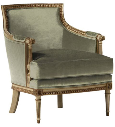 Baker Furniture - Exposed Wood Accent Chair - 6222