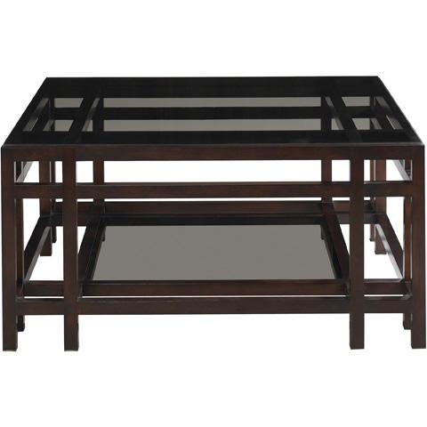 Baker Furniture - Larsen Square Cocktail Table - 6655