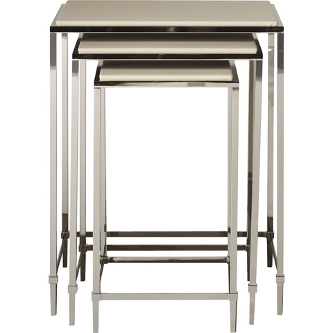 Baker Furniture - Profile Nesting Tables - 7862