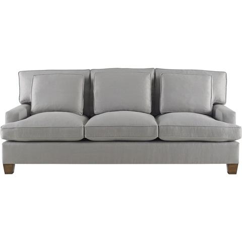 Baker Furniture - Loose Back Three Cushion Sofa - 830-86