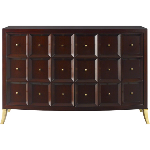 Baker Furniture - Bevel Low Cabinet - 8669