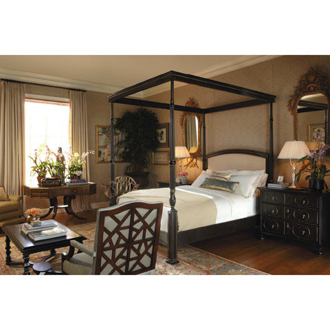 Baker Furniture - Queen Portsmith Canopy Bed - 9821QTG