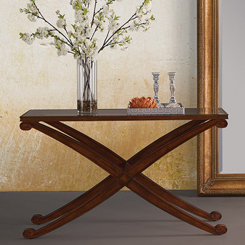 Bassett Mirror Company - Wellington II Console Table - 1150-400