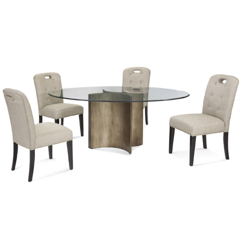 Bassett Mirror Company - Symmetry Dining Table - 2914-700-926