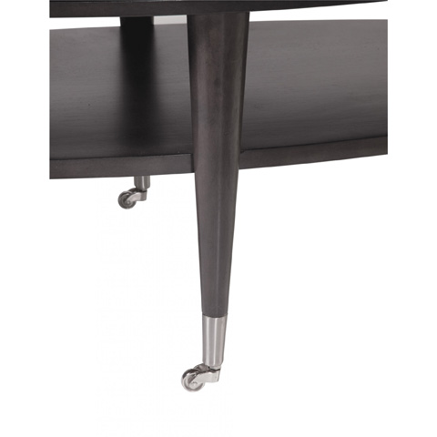 Bassett Mirror Company - Essex Oval Cocktail Table - 3011-140C