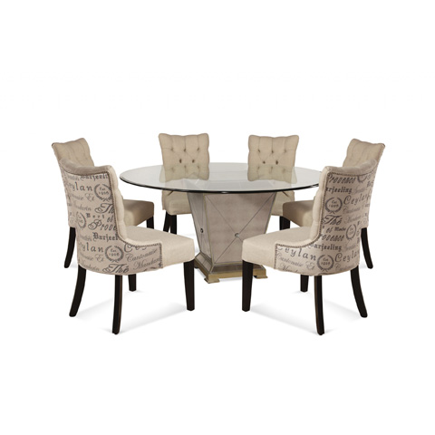 Bassett Mirror Company - Borghese Dining Pedestal Table - 8311-601-906