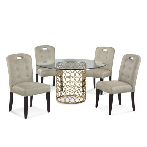 Bassett Mirror Company - Carnaby Dining Table - D2789-700-095