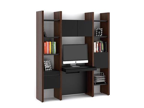 BDI - Desk with Bookshelf - 5413-DG