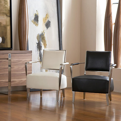 Bellini Imports - Oscar Accent Chair - OSCAR