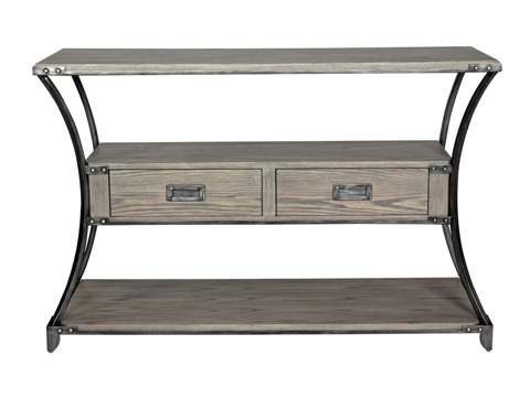 Belle Meade Signature - Giselle Industrial Loft Console Table - 5011