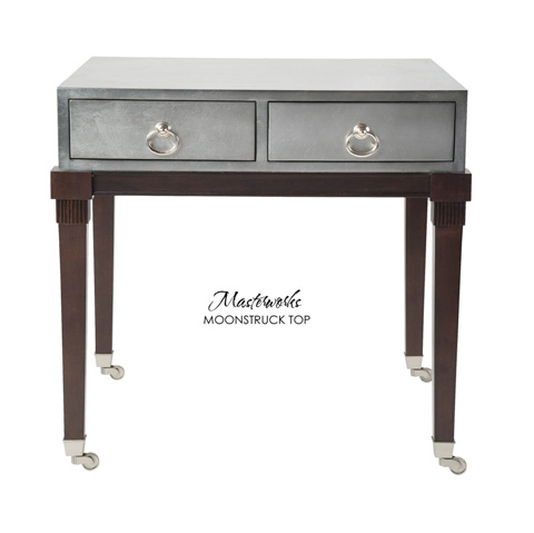 Belle Meade Signature - Camden Hollywood Regency Lamp Table - 6009