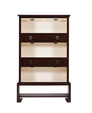 Belle Meade Signature - Bergamo Modern Display Bookcase - 6070