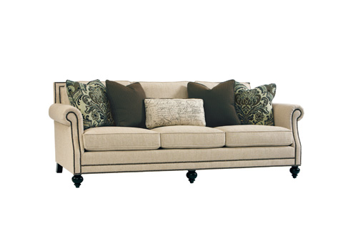 Bernhardt - Brae Upholstered Sofa with Nailhead Trim - B6717A