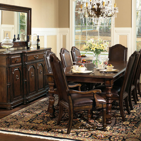 Bernhardt - Fancy Face Dining Table - 317-222