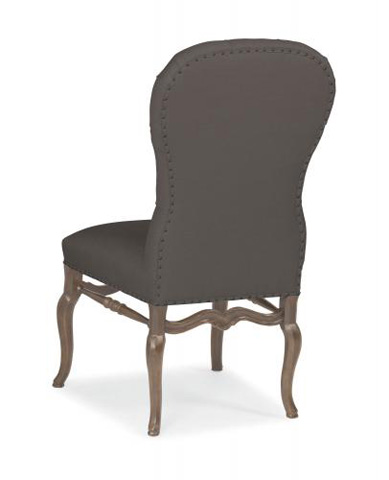 Bernhardt - Belgian Oak Upholstered Side Chair - 337-565