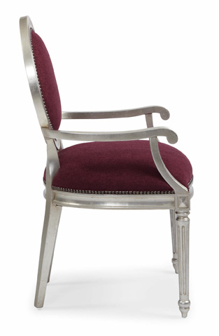 Bernhardt - Louis Upholstered Arm Chair - 340-542