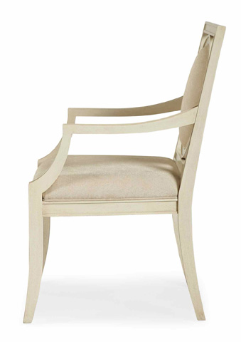 Bernhardt - Salon Arm Chair with Upholstered Seat - 341-562
