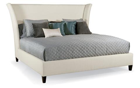 Bernhardt - Sienna Flare Upholstered Bed - 763-H66/FR66