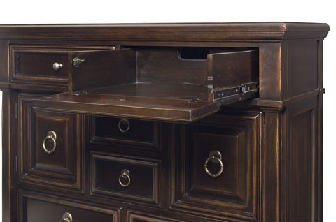 Bernhardt - Pacific Canyon Tall Chest - 349-118