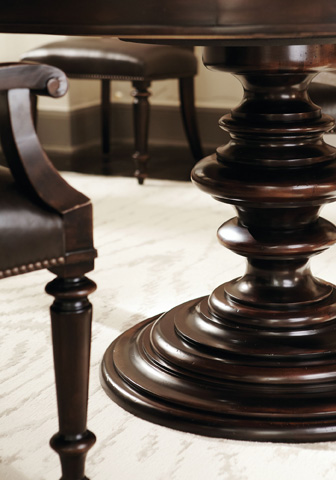 Bernhardt - Pacific Canyon Round Dining Table - 349-272/273