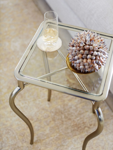 Bernhardt - Miramont Metal Drink Table - 360-126