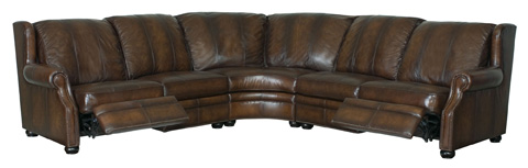 Bernhardt - Duke Power Motion Sectional Sofa - 742RL, 760RL, 741RL