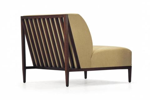 Bolier & Company - Rosenau Slat Back Lounge Chair - 52002