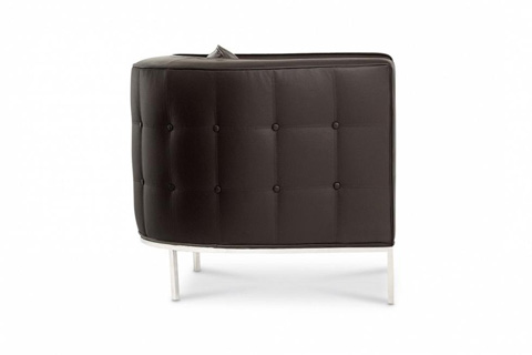 Bolier & Company - Domicile Tufted Curved Back Lounge Chair - 62047