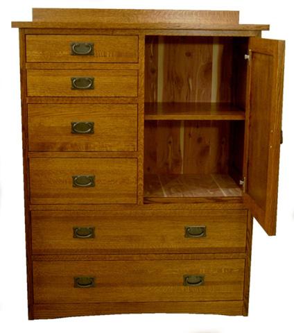 Borkholder Furniture - Bungalow Gentleman's Chest - 13-1805XXX