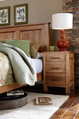 Borkholder Furniture - Burwick Three Drawer Nightstand - 14-1601XXX