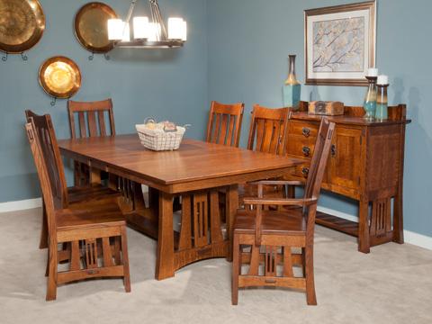 Borkholder Furniture - Highland Table - 21-8001LF1