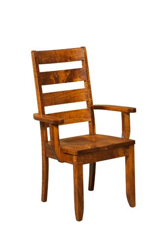 Borkholder Furniture - Dutch Ladder Arm Chair - NC-9015ACX