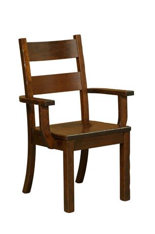 Borkholder Furniture - Western Arm Chair - NC-9040ACX