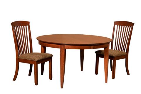 Borkholder Furniture - Heritage Round Dining Table - 16-8011LF2