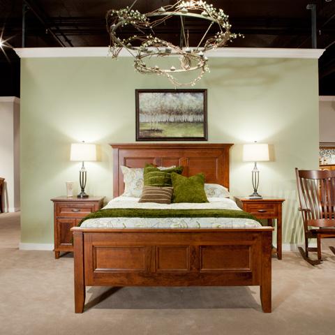 Borkholder Furniture - Livingston Panel Bed in King - 23-1502KXX