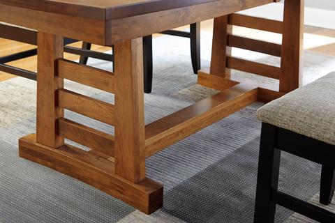 Borkholder Furniture - Sunset Hills Trestle Dining Table - 47-8001LF2