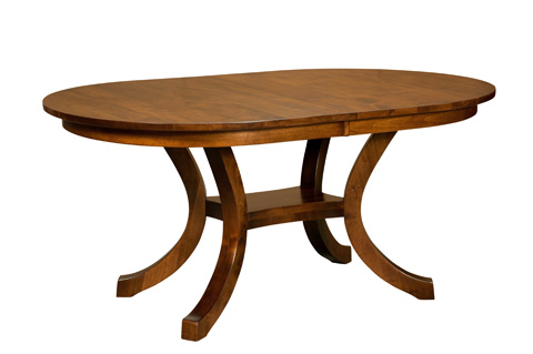 Borkholder Furniture - Carlisle Shaker Dining Table - NC-8001LF2