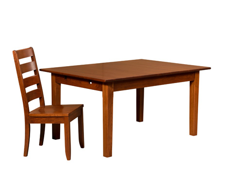 Borkholder Furniture - First Settlers Solid Top Dining Table - 16-8002STX