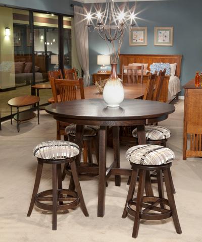 Borkholder Furniture - Turnstone Solid Top Dining Table - 34-8003STX