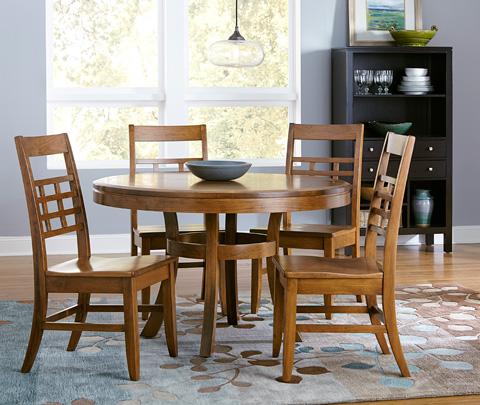 Borkholder Furniture - Sunset Hills Solid Top Dining Table - 47-8006STX