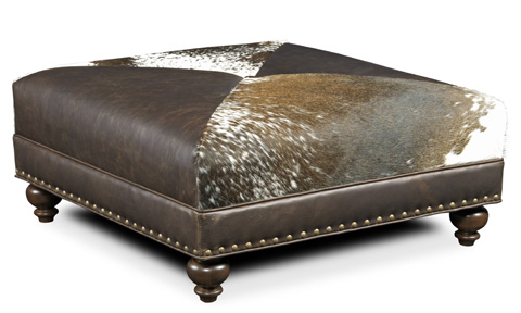 Bradington Young - Juno Cocktail Ottoman - 345-OT
