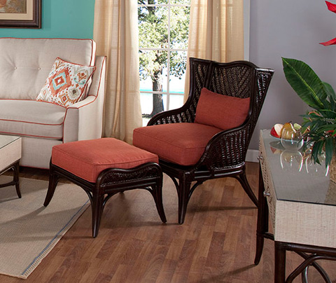 Braxton Culler - Wing Chair - 1089-007