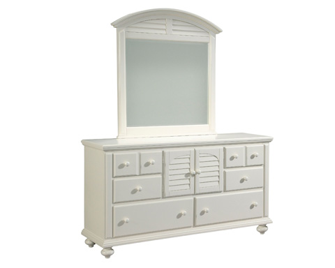 Broyhill Furniture - Large Arched Dresser MIrror - 4471-237