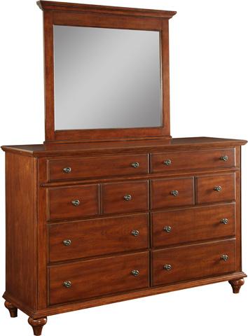 Image of Drawer Dresser in Light Cherry