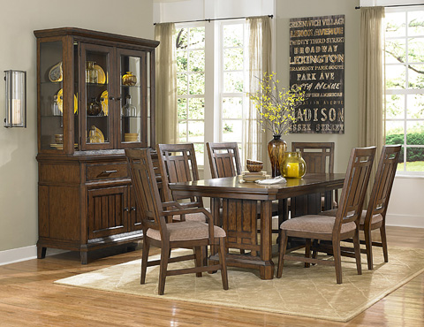 Broyhill Furniture - Estes Park Upholstered Seat Side Chair - 4364-581