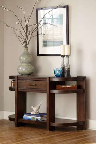 Broyhill Furniture - Ryleigh Media Console Table - 3185-009