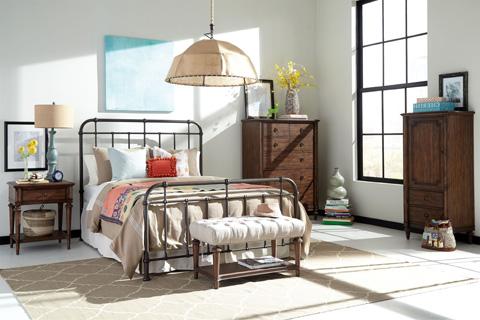 Broyhill Furniture - Cranford Single Drawer Nightstand - 4800-291
